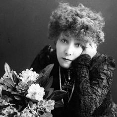 Sarah Bernhardt, actriz francesa de teatro y cine - 'the most famous actress the world has known'.