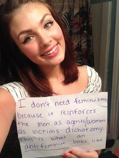 Feminism Reinforces Women as Victims Dichotomy