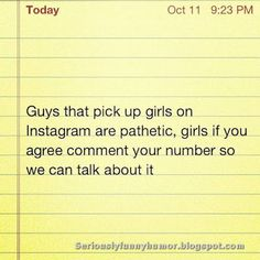 picking up on are pathetic. Funny Memes, Hilarious, Jokes, Seriously Funny, Funny Pictures, Humor, Guys, Instagram, Fanny Pics