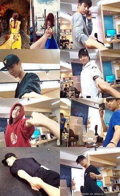 Im Jaebum just give up on his gf? Mark Jackson, Got7 Jackson, Jackson Wang, Youngjae, Kim Yugyeom, Jaebum, Jinyoung, Got7 Meme, Got7 Funny
