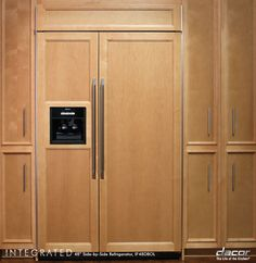 Dacor Panel Ready Side-by-Side Built...     $7,339.00