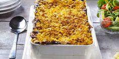 Kinkku-juustovuoka. Hyvä ruoka, parempi mieli. Macaroni And Cheese, Ethnic Recipes, Food, Mac And Cheese, Essen, Meals, Yemek, Eten