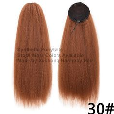 Stock More different colors sytnhetic ponytails. Ponytail Hair Extensions, Synthetic Hair Extensions, Synthetic Wigs, Brown To Blonde, Black And Brown, Blonde Afro, Marley Braids, Jumbo Braids, Faux Locs