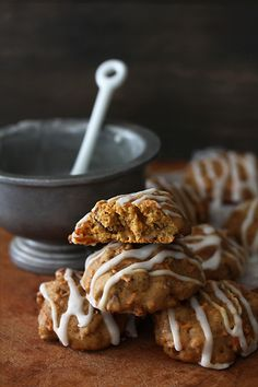 Carrot Cake Cookies ~ Bakers Royale blog <3 Perfect for Autumn, or anytime!
