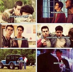 Scott and Stiles's friendship