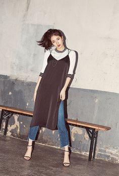 Image about miss a in Suzy ♥ by Tabi ♡ on We Heart It Asian Actors, Korean Actresses, Korean Actors, Japan Fashion, Girl Fashion, Fashion 2017, Fashion Design, Miss A Suzy, Korean Fashion Kpop