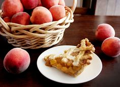 Yummy peach pie with homemade pie crust and peaches from our tree 2016! - Homegrown Delight