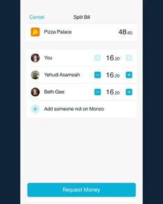 Monzo the bank like no other, offers a split the bill function on their app😊 Desert Recipes, Easy Healthy Recipes, Delicious Food, Banks, Cities, Traveling, App, Future, Learning