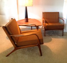 LOVE these chairs!! I'm not a huge fan of the upholstery - but the frames?? amazing!