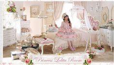 ✰ Sweety Rainy Days ☂: ♕ Princess's bedroom | shabby chic style ❤ 姫の寝室 | みすぼらしいシック ♕  #kawaii #bedroom #cute #shabbychic #shabby #chic #hime #princess #lovely #room #furniture #decoration #bed #romantic #romance