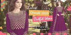 Diwali Outfits Ideas For Diwali 2019 Diwali Dresses, Diwali Outfits, Diwali Party, Diwali Celebration, Latest Outfits, Cool Outfits, Diwali Sale, Traditional Looks, Silk Sarees