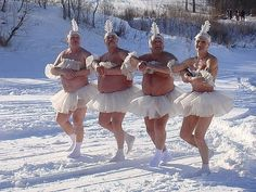 Winter does strange things to Finnish people