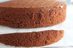A tried and tested recipe for chocolate chiffon cake. Great on its own, or as a cake base for party or celebration cakes.