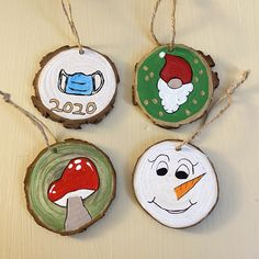 Christmas Stocking Pattern, Christmas Gnome, Christmas Art, Christmas Stockings, Painted Christmas Ornaments, Christmas Mason Jars, Fun Crafts, Christmas Crafts, Christmas Medley
