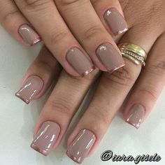 Wedding Nails-A Guide To The Perfect Manicure – Page 7178958474 – NaiLovely Elegant Nail Designs, Nail Art Designs, Wow Nails, French Nail Art, Great Nails, Manicure And Pedicure, Wedding Nails, Hair And Nails, Nail Colors