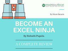 Become An Excel Ninja - Course Review - Mad About Excel