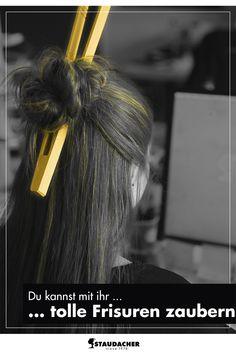 Schick uns deine Einfälle gerne auf Facebook mit dem Hashtag #whatwoodyoudo Facebook, Hair Styles, Beauty, Quiff Hairstyles, Wizards, Chic, Hair Plait Styles, Hair Makeup, Hairdos