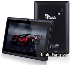 7'' A13 Google Android 4.0 AllWinner Tablet Boxchip Cortex A8 1.2Ghz MID Capacitive Touch Screen G-sensor WIFI, Camera, Skype Video Calling, Netflix, Flash Supported Dragon Touch(TM) MID7134B [By TabletExpress] (4GB Black) $67.99
