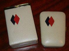 Mid Century Princess Gardner Hard Cigarette Case by RetroPickins, $19.95