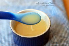 Latte condensato vegan senza lattosio