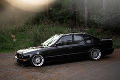 BMW E34 build on wide Alpinas - StanceWorks