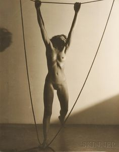 František Drtikol (Czech, 1883-1961)      Nude with Ropes auctioned for $10,455.