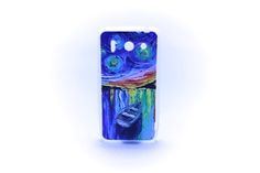 Carcaza Pintura Barco Nocturno Relieve Huawei G510 — HighTeck Store