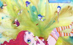Nina Pandolfo é ilustradora e artista plástica. Ela entrou no mundo da arte pintando telas e só depois migrou para as ruas. Seu estilo é mui...