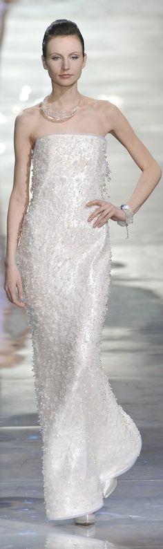 Sparkling white Armani Prive