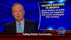O'Reilly: Obama Admin's 'Compassion for Criminals' Will Lead to More Violence