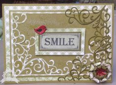 Couture Creations: 2015 Design Team Introducing Lesa Bird | #couturecreationsaus #cards #decorativedies #vintagerosegarden