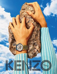 Qing He for KENZO Spring Summer 2015 by TOILETPAPER