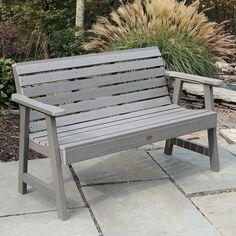 Outdoor highwood Weatherly 4 Ft. Garden Bench,
