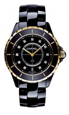 Chanel J12 Jewelry 38MM Diamond Dial Womens Watch H2544