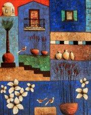 Michel Rauscher - Huile sur toile - 73 x 92 cm - 2012