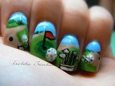 9 Best Nail Art Images In 2015 Sports Nail Art Nails Design
