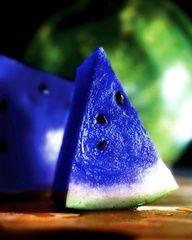 Melancia azul