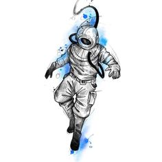 Learn more about tattoo styles and the work of Wescley - wescleyf (Tattoo artist). Dc Tattoo, Tattoo Drawings, Astronaut Illustration, Astronomy Tattoo, Naruto Tattoo, Ocean Tattoos, Hypebeast Wallpaper, T Art, Art Sketches