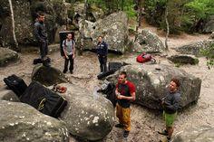 Typisch Bleau. 99% der Boulder sind mögliche Projekte  Auf der Suche nach einem Machbaren dauert es immer eine Weile. Das macht mit euch immer Spaß  @ct1532 @climb.run.cycle . #bouldern #bleau . . . . . . #climbing #timetoclimb #ilovebouldering #fitness #climbingphotography #bouldering_pictures_of_instagram #climbing_pictures_of_instagram  #climbing_is_my_passion #climb #escalada #photooftheday #nature #nofilter #outdoor #climbingisfun #great #fun #mainblocmit euch aber immer Spaß…