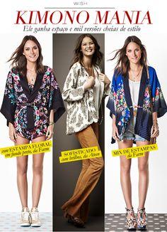 Ya les había comentado que las tendencia de los kimonos está super fuerte esta temporada, en Instinto tenemos unos ¡¡¡HERMOSOS!!! por eso les dejo un poco de inspiración para que se animen a llevarlos.