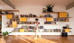 Apartamento ganha marcenaria inspirada nas estrelas - Casa