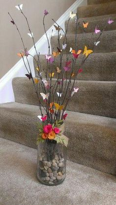 Gardens Discover Craft Spring Flowers Centerpieces 36 Ideas For 2019 Butterfly Crafts Flower Crafts Butterfly Tree Butterflies Butterfly Wall Art Home Crafts Crafts For Kids Diy Crafts Mothers Day Crafts Home Crafts, Diy And Crafts, Crafts For Kids, Decor Crafts, Butterfly Crafts, Flower Crafts, Butterfly Tree, Butterflies, Butterfly Wall Art