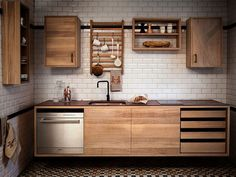 Make use of vertical space on offer [Design: Bucks and Spurs Stockholm] - Decoist