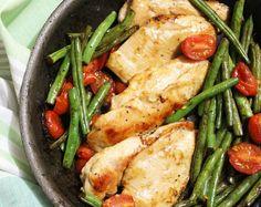 One Pan Balsamic Chicken & Veggies