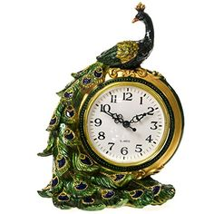 The elegance of this Peacock table clock is absolutely timeless. Look for it at your local Cracker Barrel Old Country Store.