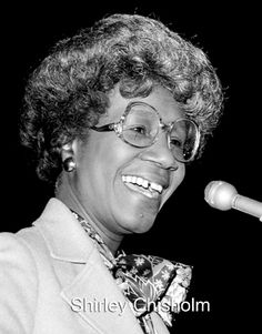 Shirley Chisholm Biography | Click on images to enlarge Shirley Chisholm, Grace Art, Democratic Party, Glass Ceiling, Female, Biography, Google Search, Inspiration, Women