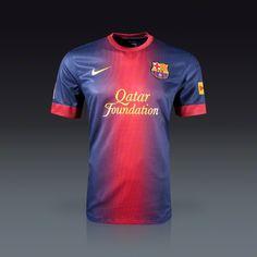 Nike Barcelona Youth Home Jersey 12/13