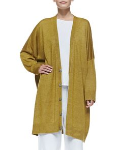 eskandar Wide Button-Down Cardigan worn by Olivia Pope on Scandal Neiman Marcus Sale, Scandal Fashion, Olivia Pope, New Week, Lana, Button Downs, Dressing, Sweaters, Outfits