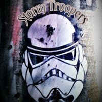#Stormtroopers at the #nychirl