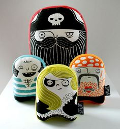 Wry Baby pirate stuf toys